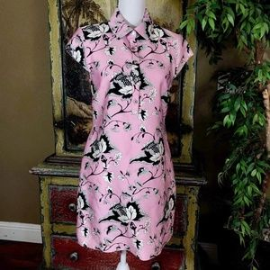 Diane Von Furstenberg DVF Morgan Pink Dress Sz 6